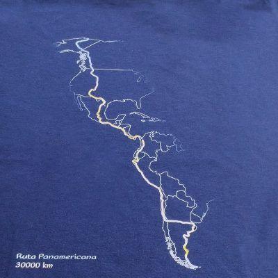 Detalle Camiseta GRT Panamericana