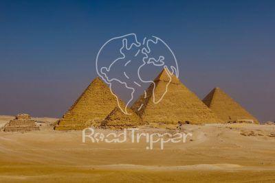 Por el Retrovisor - Camiseta PR Pirámides de Egipto