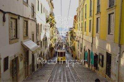 Por el Retrovisor - Camiseta PR Tranvía de Lisboa