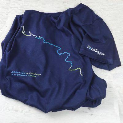 Detalle Camiseta CL Lagos de Covadonga