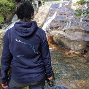 Sudadera CL Lagos de Covadonga Espalda