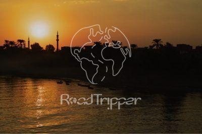 Por el Retrovisor - Camiseta PR Atardecer en el Nilo