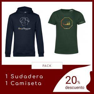 Pack 1 Sudadera 1 Camiseta RoadTripper